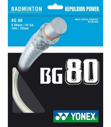 Yonex BG80 Streng (200m), gul