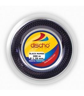Discho Black Mamba Penta twisted tennisstreng (200 m)