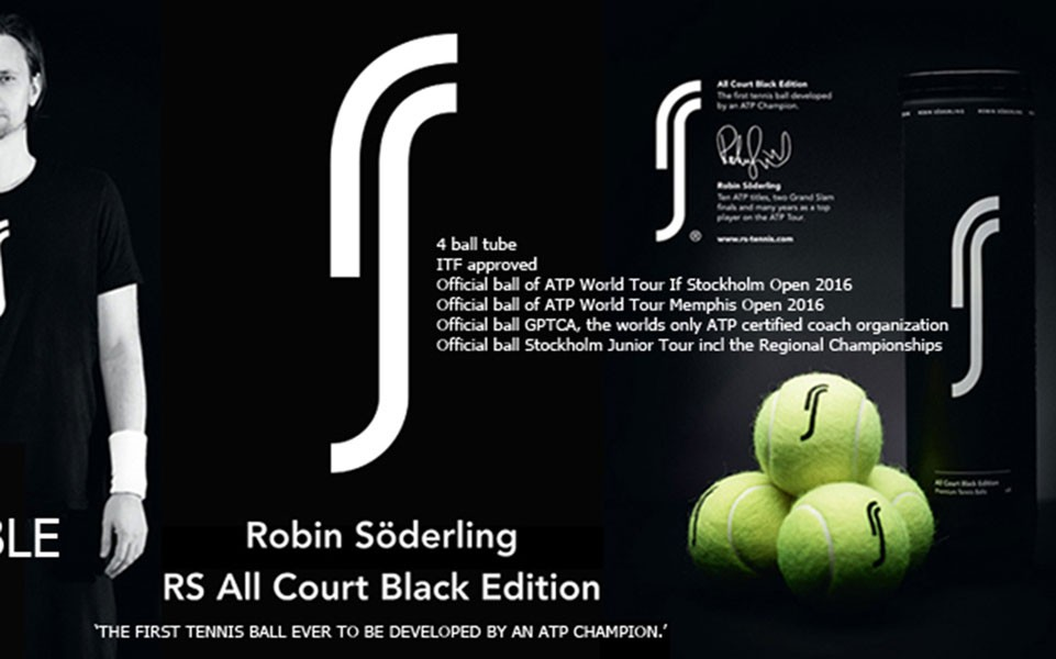 RS All Court Black Edition - premium tennisbolde