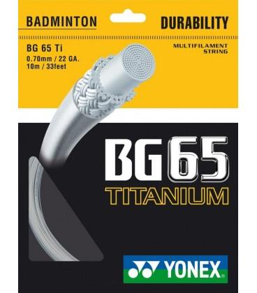 Yonex BG65 Ti Streng (200m)
