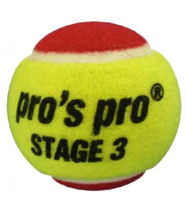 Stage 3 tennisbolde (4 stk.)