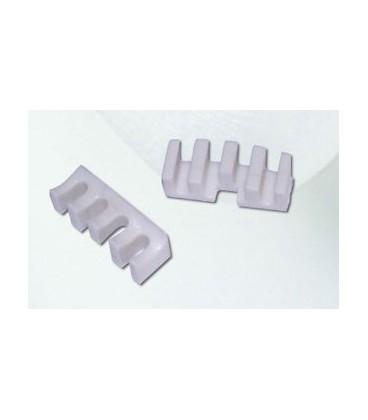 Belastningsfordeler (rammebeskyttelse) til badmintonketcher - 1 stk. belastningsfordeler (rammebeskyttelse) til brug ved opstrening af badmintonketcher