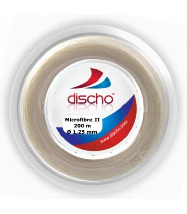DISCHO MICROFIBRE II tennisstreng (200 m)