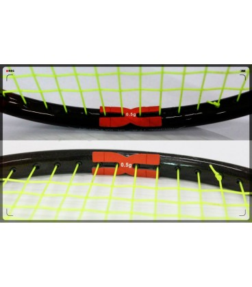 Vægt balancer til badmintonketcher