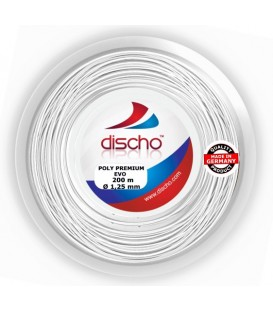 Discho Poly Premium Evo tennisstreng (200 m)