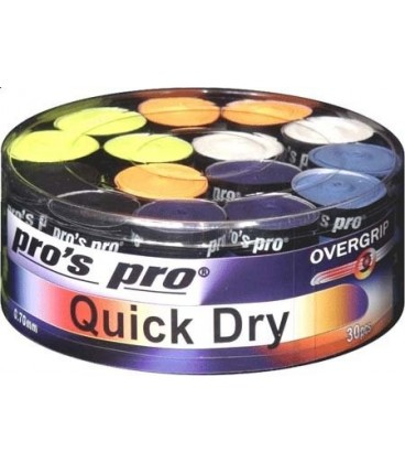 30 stk. Pros Pro Quick Dry overgrip
