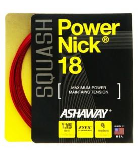Ashaway PowerNick 18 squashstreng